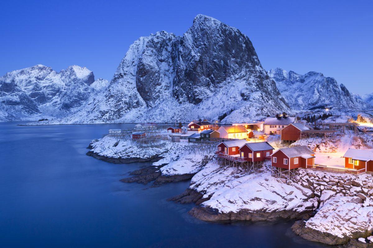 Quel sites de la Norvège visiterez-vous ?